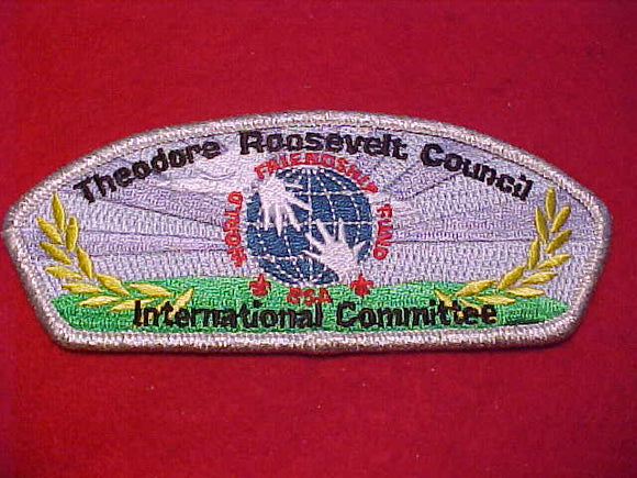 THEODORE ROOSEVELT C. SA-11, INTERNATIONAL COMMITTEE, SMY BDR., 20 MADE