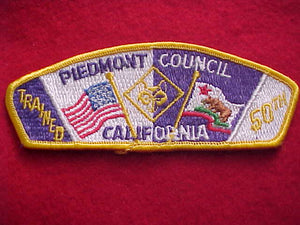 "PIEDMONT (CA) SA14, 50TH, ""TRAINED"""