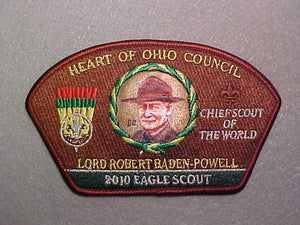 HEART OF OHIO COUNCIL, 2010 EAGLE SCOUT
