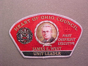 HEART OF OHIO COUNCIL, UNIT LEADER, 500 MADE