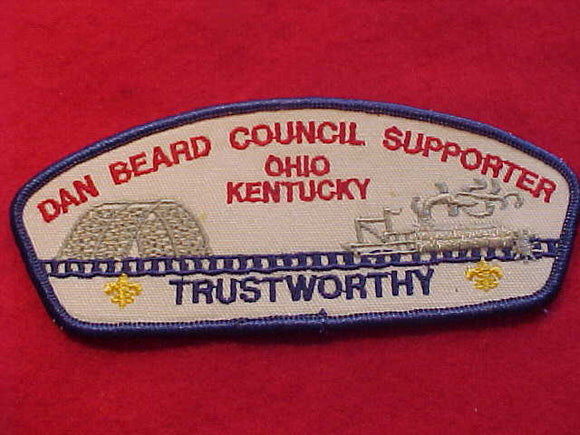 DAN BEARD TA-14, OHIO/KENTUCKY, TRUSTWORTHY