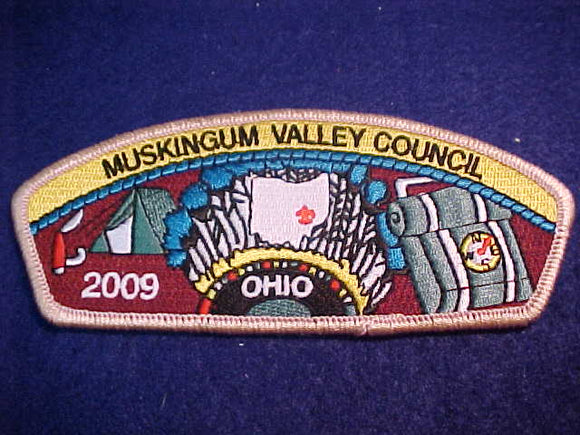 MUSKINGUM VALLEY C. SA-35, 2009, OHIO, PINK BDR.