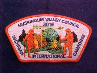 2016 MICHIGAN INTERNATIONAL CAMPOREE, 467 MUSKINGUM VALLEY COUNCIL, SA
