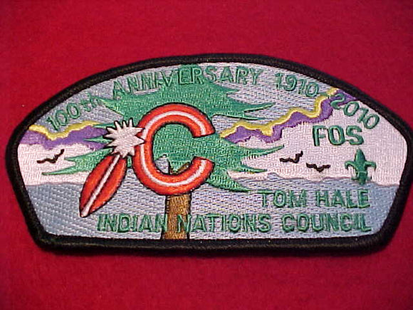 Indian Nations sa52.1, Tom Hale, 100th Anniv., 1910-2010, FOS