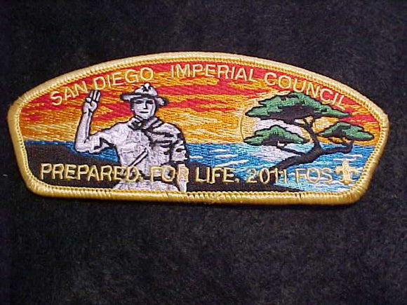 SAN DIEGO-IMPERIAL C. SA-12, FOS 2011, PREPARED FOR LIFE