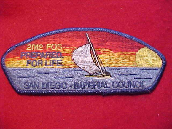 SAN DIEGO-IMPERIAL C. SA-14, FOS 2012, PREPARED FOR LIFE