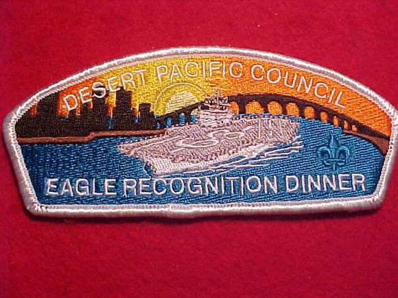 DESERT PACIFIC C. SA-22, EAGLE RECOGNITION DINNER, WHITE BDR.