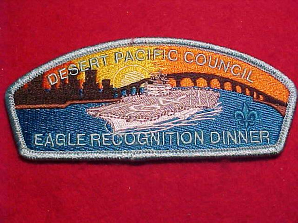 DESERT PACIFIC C. SA-23, EAGLE RECOGNITION DINNER, LT. BLUE BDR.