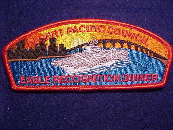 DESERT PACIFIC C. SA-22, EAGLE RECOGNITION DINNER, RED BDR.