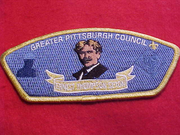 GREATER PITTSBURGH C., SA-36, ERNEST THOMPSON SETON