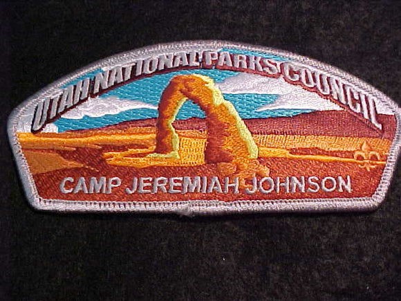 UTAH NATIONAL PARKS C. SA-77, CAMP JEREMIAH JOHNSON