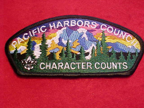 PACIFIC HARBORS C. SA-25, CHARACTER COUNTS