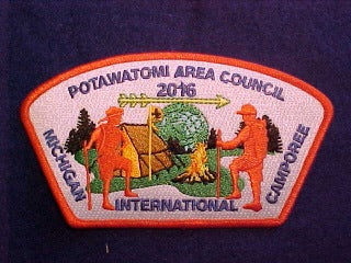 2016 MICHIGAN INTERNATIONAL CAMPOREE, 651 POTAWATOMI AREA COUNCIL, SA