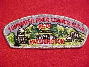 TUMWATER AREA C. T-2, WASHINGTON, 75TH ANNIV.