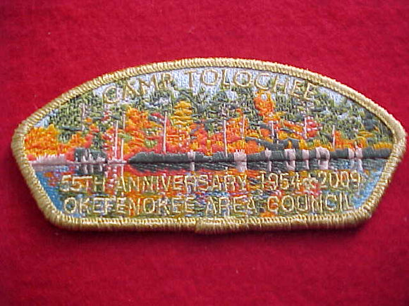 OKEFENOKEE AREA SA35, CAMP TOLOCHEE, 55TH ANNIVERSARY, 1954-2009