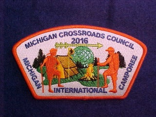 2016 MICHIGAN INTERNATIONAL CAMPOREE, 780 MICHIGAN CROSSROADS COUNCIL, SA