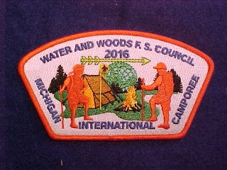 2016 MICHIGAN INTERNATIONAL CAMPOREE, 782 WATER AND WOODS F.S. COUNCIL, SA