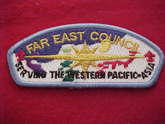 Far East s8, serving the Western Pacific-Asia