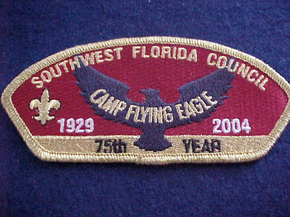 Southwest Florida sa10, Camp Flying Eagle, 75th year, 1929-2004