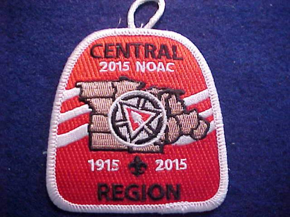 CENTRAL REGION PATCH, 2015 NOAC
