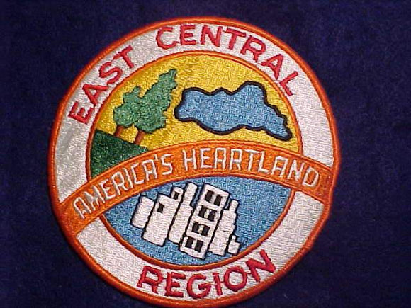 CENTRAL REGION JACKET PATCH, NO FDL, CLOTH BACK