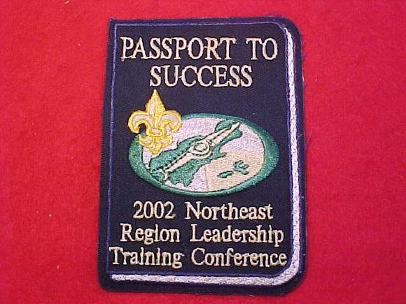 NORTHEAST REGION PATCH, 2002 LEADERSHIP TRAINING CONFERENCE
