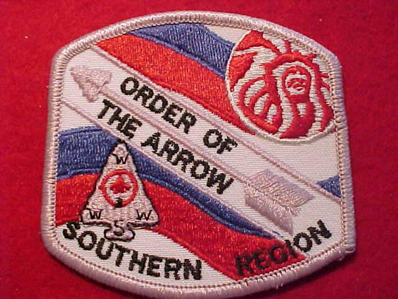 SOUTHERN REGION PATCH, ORDER OF THE ARROW
