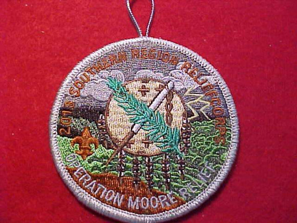 SOUTHERN REGION PATCH, RELIEFCORPS, OPERATION MOORE RELIEF