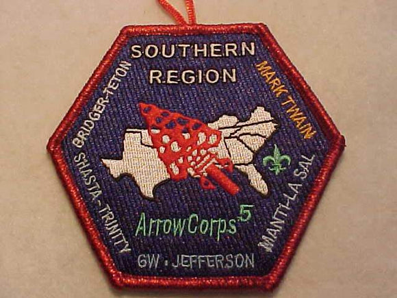 SOUTHERN REGION PATCH, ARROWCORPS 5