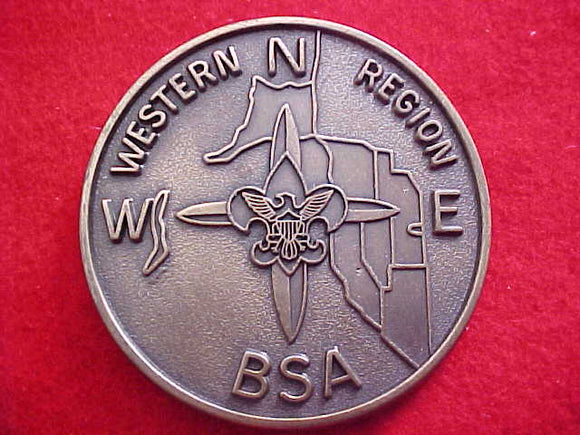 WESTERN REGION BELT BUCKLE, CAST METAL