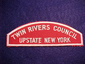 RWS, TWIN RIVERS COUNCIL/UPSTATE NEW YORK