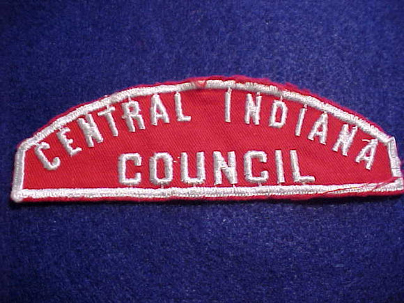 RWS, CENTRAL INDIANA/COUNCIL, USED