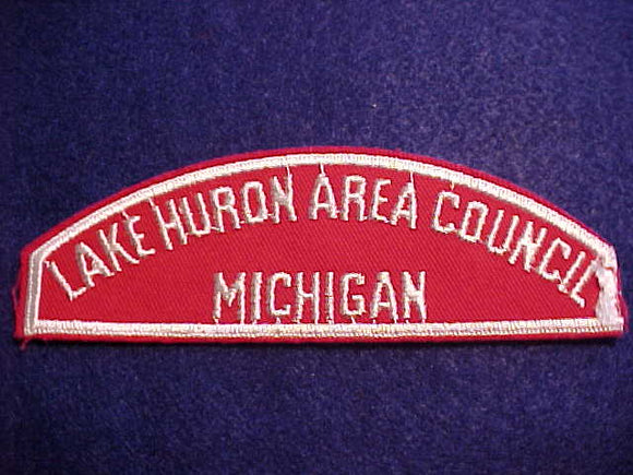 RWS, LAKE HURON AREA COUNCIL/MICHIGAN, USED