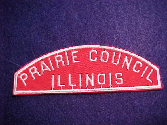 RWS, PRARIE COUNCIL/ILLINOIS