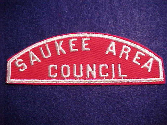 RWS, SAUKEE AREA/COUNCIL