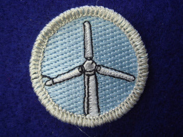 Renewable Energy spoof merit badge