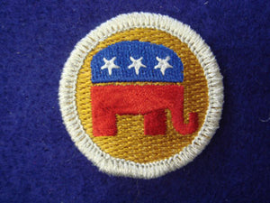 Republican Party spoof merit badge