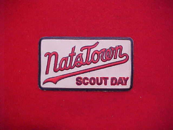 NATSTOWN SCOUT DAY PATCH