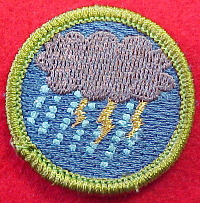 Storm Chasing Spoof Merit Badge