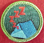 snoring spoof merit badge