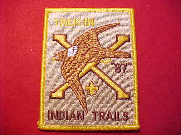 INDIAN TRAILS TREK-IN, 1987