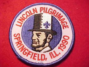 LINCOLN PILGRIMAGE, 1990, SPRINGFIELD ILLINOIS
