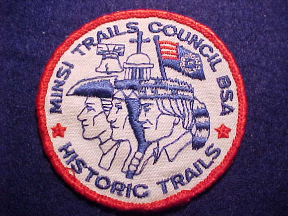 MINSI TRAILS COUNCIL HISTORIC TRAILS, USED