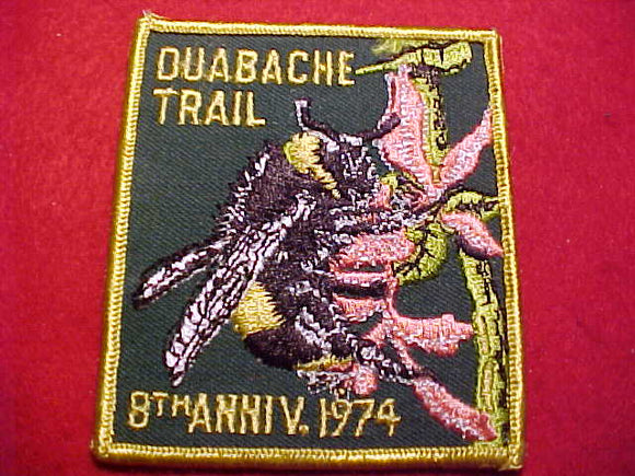 OUABACHE TRAIL 8TH ANNIVERSARY, 1974