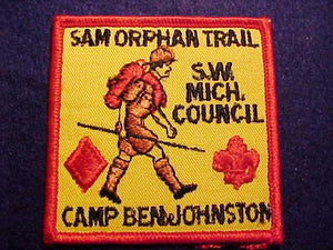 SAM ORPHAN TRAIL, CAMP BEN JOHNSTON, SOUTHWEST MICHIGAN COUNCIL