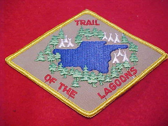 TRAIL OF THE LAGOONS PATCH