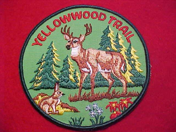 YELLOWWOOD TRAIL PATCH, 4.5