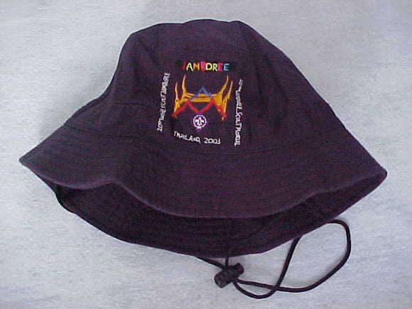 2003 WJ BUCKET HAT, SOLD AT TRADING POST, SIZE L, MINT