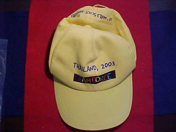 2003 WJ CAP, YELLOW