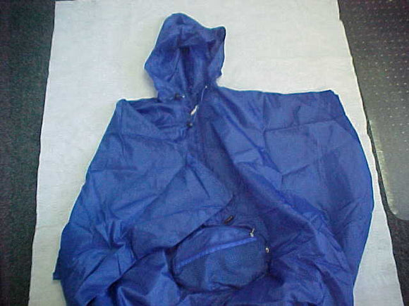 2007 WJ PONCHO, HAS BUILT-IN CARRYING PACK, BSA CONTIGENT, ISSUED 1/SCOUT